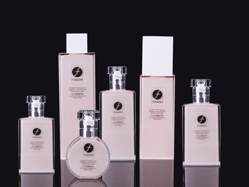 Square Lotion Bottle Series